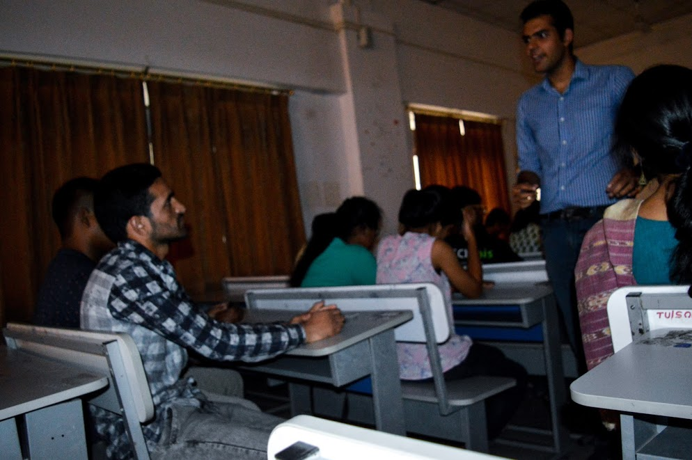 Orientation of New Volunteers by Tezpur University College ...